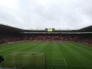 St. Mary's. Home of Southampton F.C.