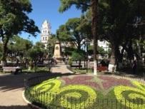 Plaza 25 de Mayo, Sucre. Bolivia