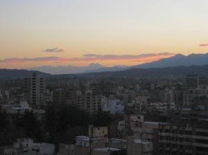 Sunset in Mendoza