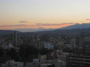 Sunset in Mendoza