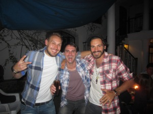 Caspar, Me, Arnaud