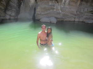 Me and Marion at 7 Cascadas