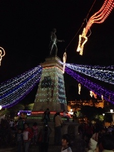 The Christmas Lights In Sucre