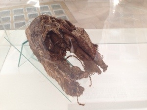 500 year old Inca mountain shoe