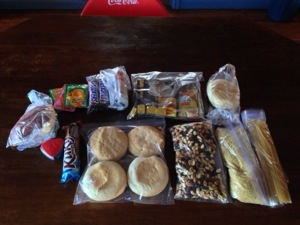 My Food for 5 days