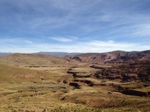 Canyon in the Altiplano