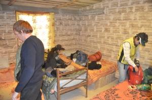 Our room at the Maya hostal de sal