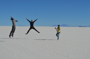 Standard Salt Flat Jumping Pic