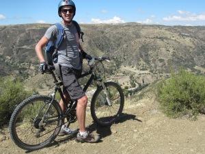 Mountain Biking to Yotala